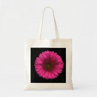 Tote Bag Plantes sur des emballages - marguerite rose