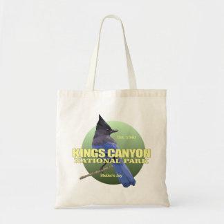 Tote Bag POIDS des Rois Canyon NP (geai de Stellers)