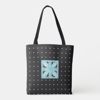 Tote Bag Point-Fleur-EMBALLAGES de mod de
