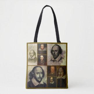 Tote Bag Polyester Fourre-tout de William Shakespeare
