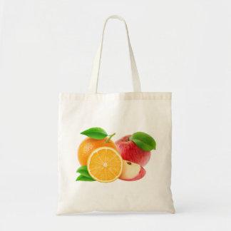 Tote Bag Pommes et oranges