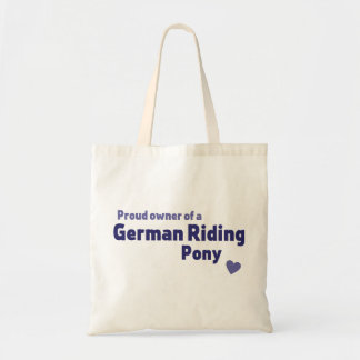 Tote Bag Poney allemand d'équitation