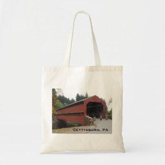 Tote Bag Pont couvert de Sachs près de PA de Gettysburg