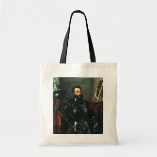 Tote Bag Portrait du duc d'Urbino par Titian