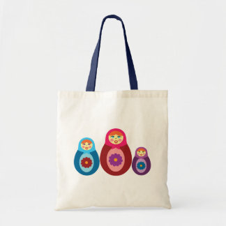 Tote Bag Poupées de Matryoshka