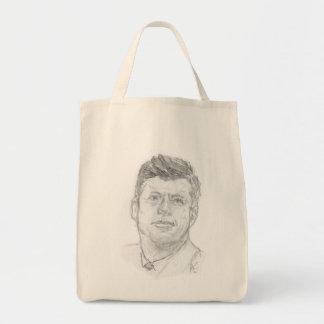 Tote Bag Preaident John F. Kennedy esquissé en 1963