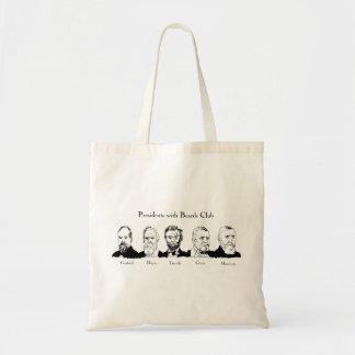 Tote Bag Présidents avec le budget Fourre-tout de club de