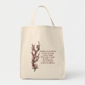 Tote Bag Prière inspirée de sérénité de citation