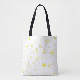 Tote Bag Profil sous convention astérisque d'or