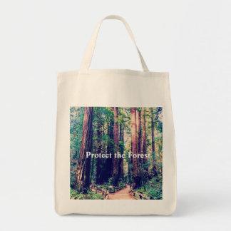 Tote Bag Protégez la forêt