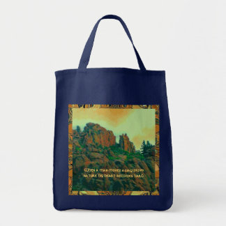 Tote Bag proverbe de lakota d'homme et de nature