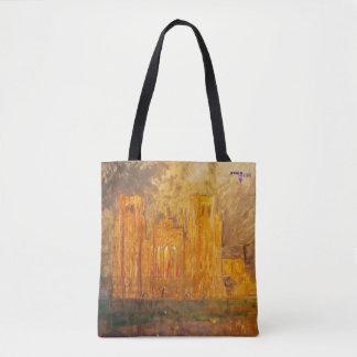 Tote Bag Puits cathédrale, Somerset, R-U - impression
