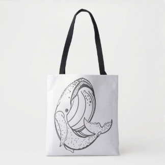 Tote Bag Queue d'une baleine