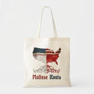 Tote Bag Racines maltaises américaines