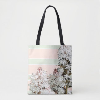 Tote Bag Rayures et floral