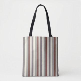 Tote Bag rayures fraîches à la mode de couleur en pastel