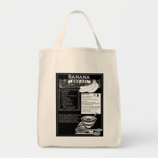 Tote Bag Recette de cake à la banane