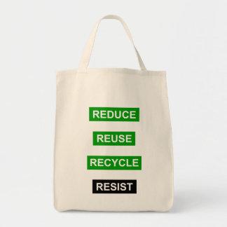 Tote Bag Réduisez la réutilisation réutilisent résistent à
