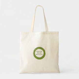 Tote Bag réduisez, réutilisez, réutilisez fourre-tout