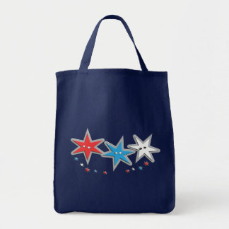 Tote Bag Regards étoilés - un trio patriotique
