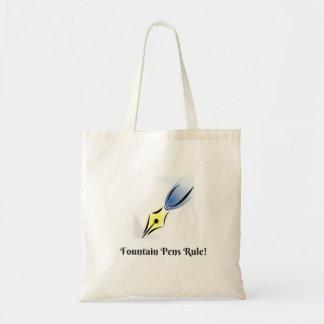 Tote Bag Règle de stylos-plumes et de graines