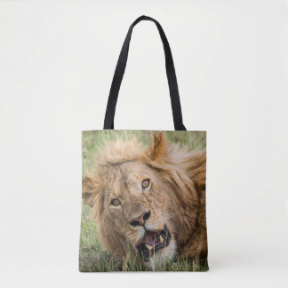 Tote Bag Repos masculin de lion