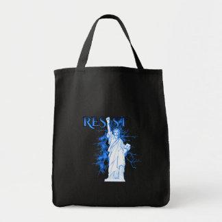 Tote Bag Résistez avec Madame Liberty Grocery Fourre-tout