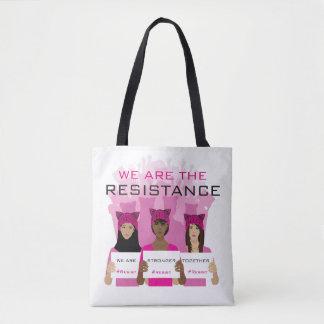 Tote Bag RÉSISTEZ - nous sommes la résistance - aux