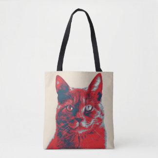Tote Bag Rétro affiche d'espoir de chat