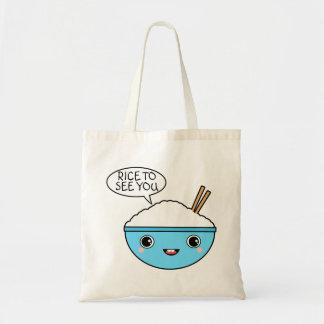 Tote Bag Riz pour vous voir
