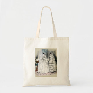 Tote Bag Robe de mariage vintage de jeune mariée