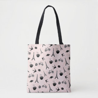 Tote Bag Romance de Paris modelé