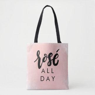 Tote Bag Rosé toute la journée Fourre-tout