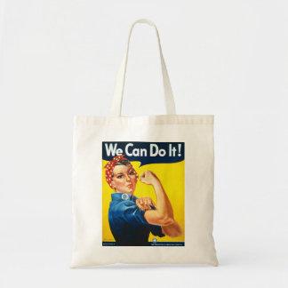 Tote Bag Rosie le rivoir nous pouvons le faire la deuxième