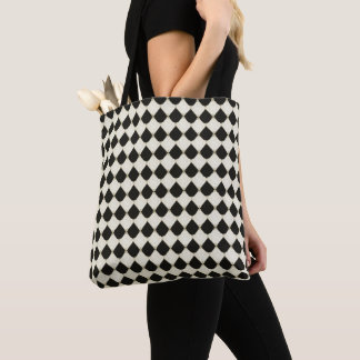 Tote Bag Royal-French-Harlequin_Stylish-Bags-Tote-M-L