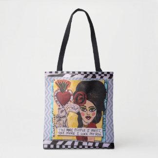 Tote Bag Sac-Le de Fourre-tout plus de personnes je