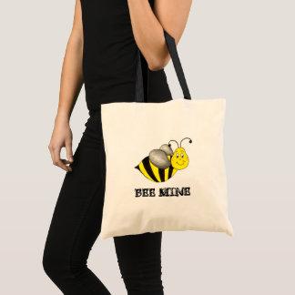 Tote Bag Saint-Valentin (Be) de bourdon de jaune de mine