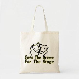 Tote Bag Sauvez le drame pour l'étape
