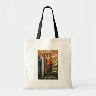 Tote Bag Sciant Madame In Half de ~ de Loi magique vintage