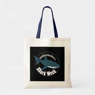 Tote Bag Semaine fourre-tout de requin