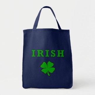 Tote Bag Shamrock irlandais