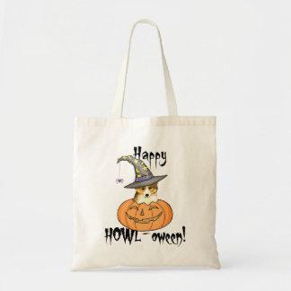 Tote Bag Sheltie Halloween