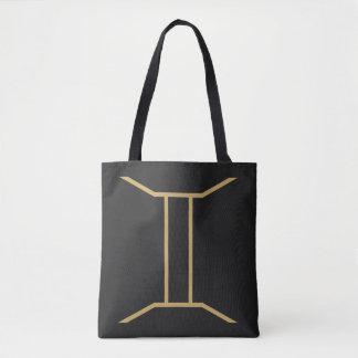 Tote Bag Signe de zodiaque de Gémeaux de base