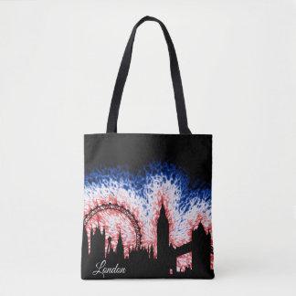 Tote Bag Silhouette de Londres Angleterre