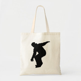 Tote Bag Silhouette de surfeur