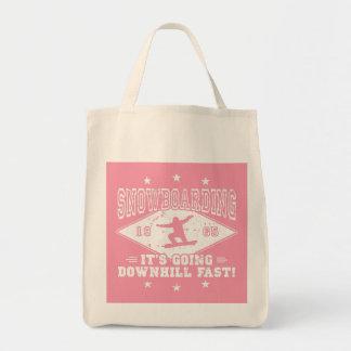 Tote Bag Skydive ou poulet ? (blanc)