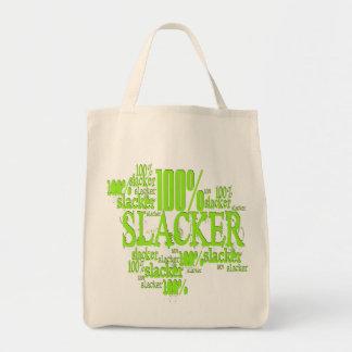 Tote Bag Slacker de 100% - épicerie organique Fourre-tout