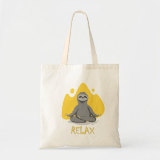Tote Bag Sloth Relax