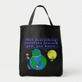 Tote Bag Snob drôle de la terre