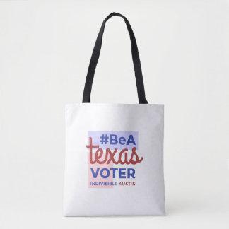 Tote Bag Soyez un électeur Fourre-tout du Texas